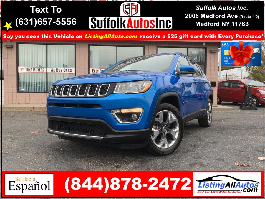 Used 2020 Jeep Compass in Patchogue, New York | www.ListingAllAutos.com. Patchogue, New York