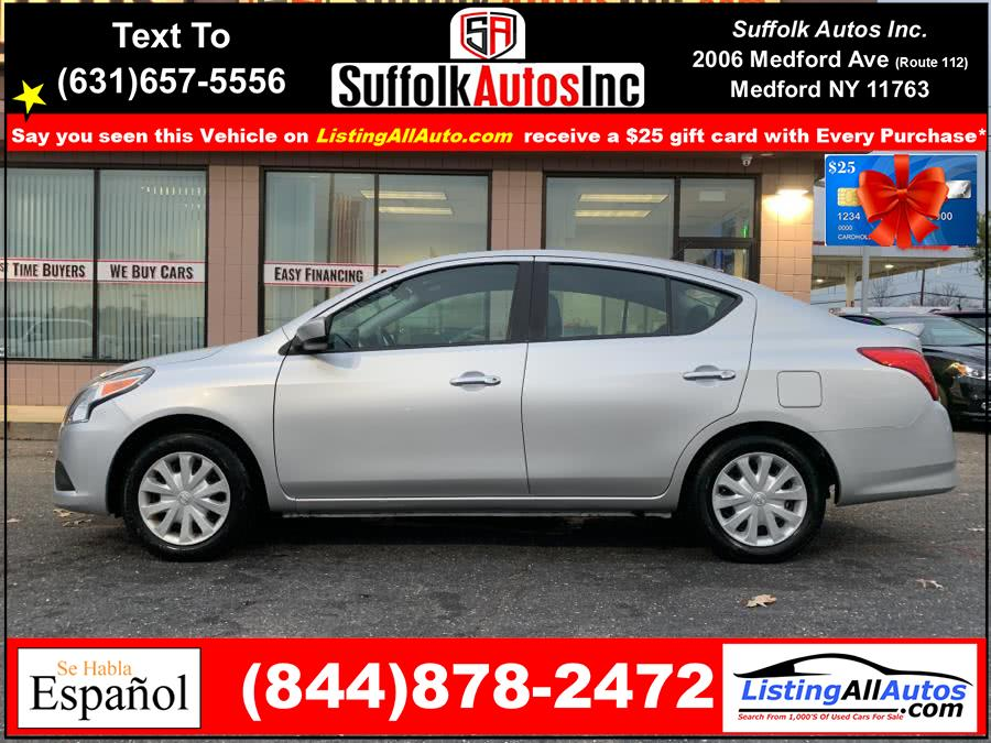 Used 2019 Nissan Versa Sedan in Patchogue, New York | www.ListingAllAutos.com. Patchogue, New York