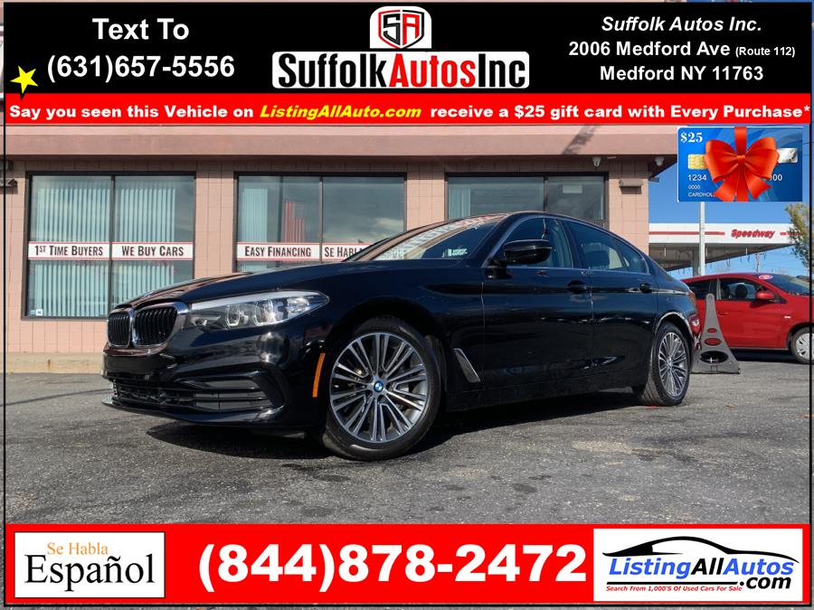 Used 2019 BMW 5 Series in Patchogue, New York | www.ListingAllAutos.com. Patchogue, New York