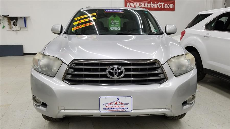 2008 Toyota Highlander 4WD 4dr Sport, available for sale in West Haven, CT