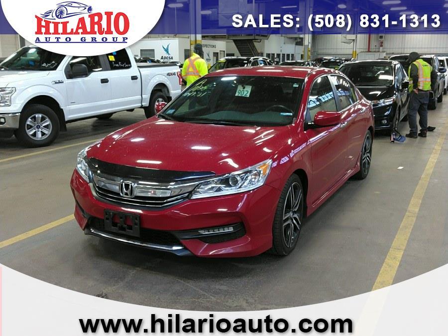 Used 2017 Honda Accord Sedan in Worcester, Massachusetts | Hilario's Auto Sales Inc.. Worcester, Massachusetts