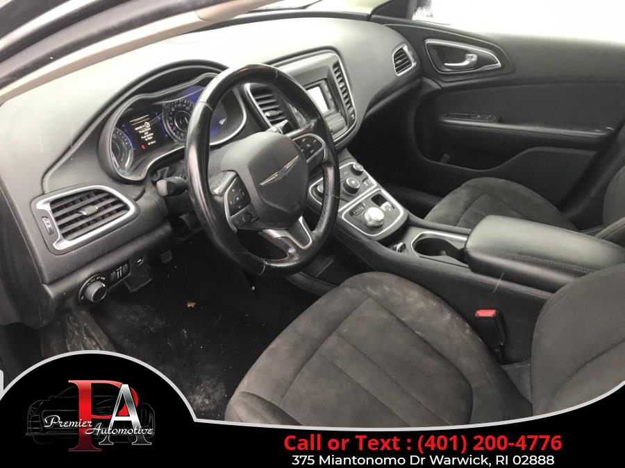 Used Chrysler 200 4dr Sdn Limited FWD 2015 | Premier Automotive Sales. Warwick, Rhode Island