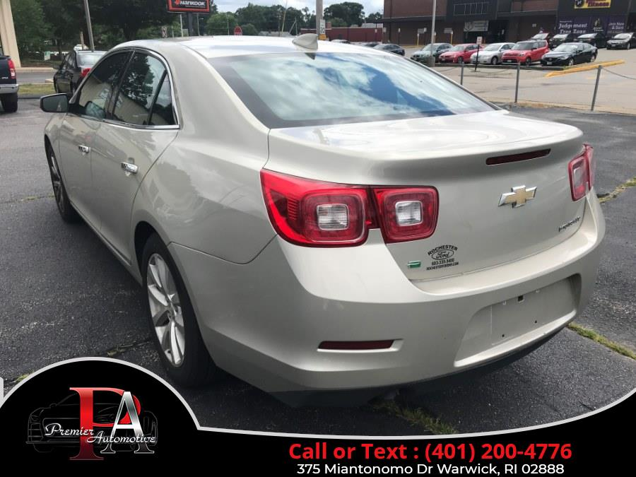 Used Chevrolet Malibu Limited 4dr Sdn LTZ 2016 | Premier Automotive Sales. Warwick, Rhode Island