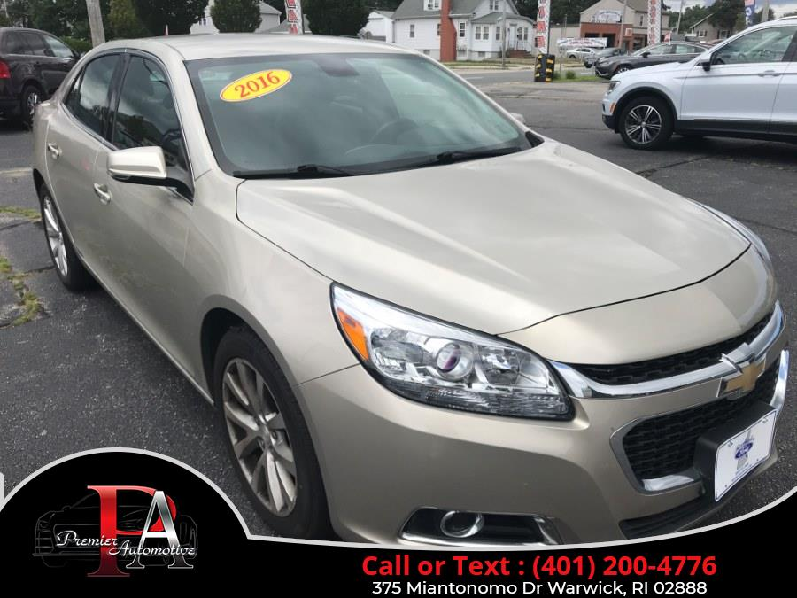 Used 2016 Chevrolet Malibu Limited in Warwick, Rhode Island | Premier Automotive Sales. Warwick, Rhode Island