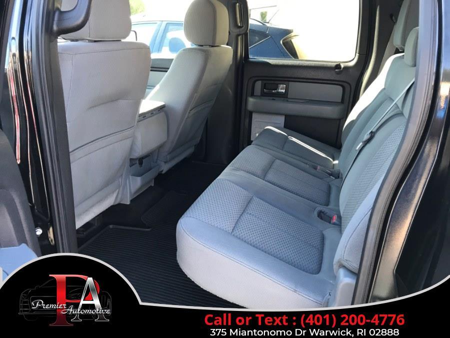 "Used Ford F-150 4WD SuperCrew 145"" XLT 2013 | Premier Automotive Sales. Warwick, Rhode Island"