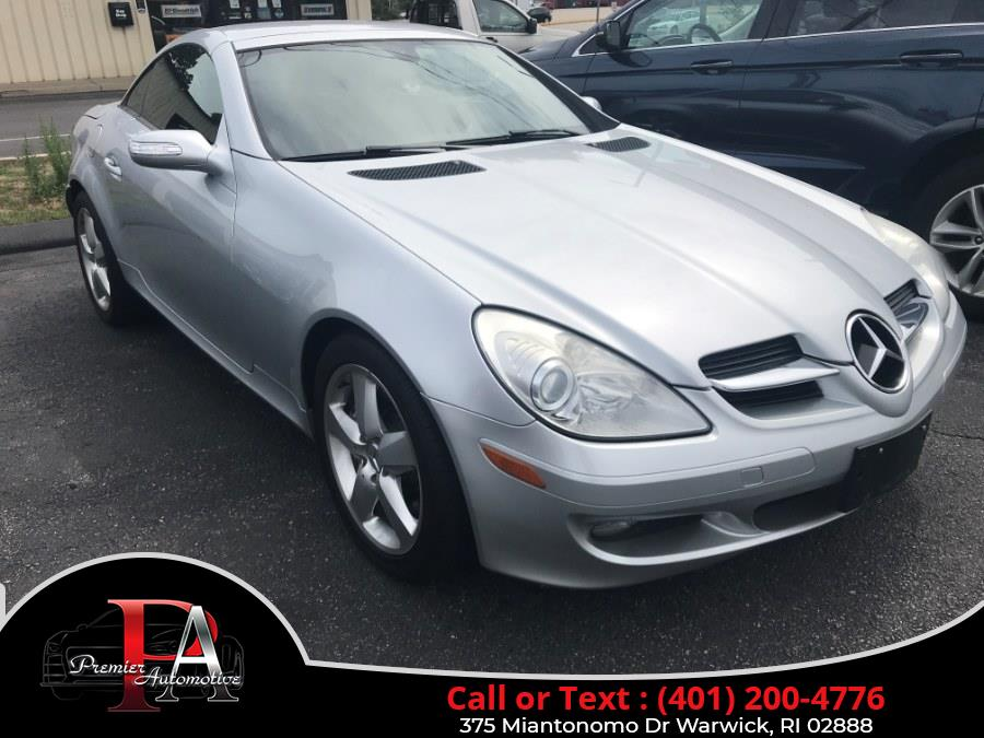 Used 2005 Mercedes-Benz SLK-Class in Warwick, Rhode Island | Premier Automotive Sales. Warwick, Rhode Island