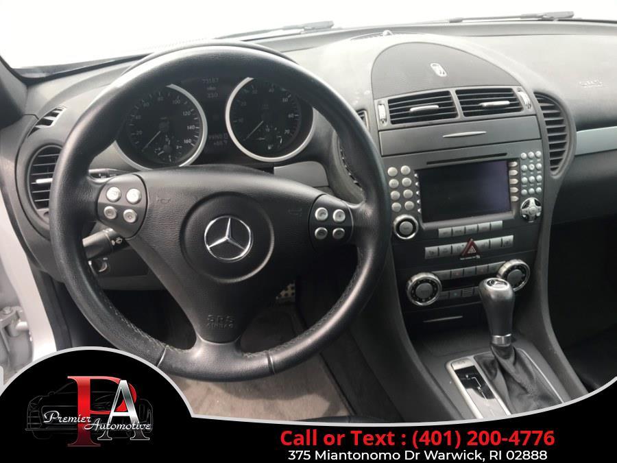 Used Mercedes-Benz SLK-Class Roadster 3.5L 2005 | Premier Automotive Sales. Warwick, Rhode Island
