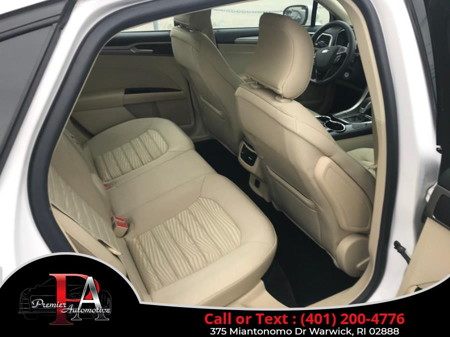 Used Ford Fusion 4dr Sdn SE FWD 2016 | Premier Automotive Sales. Warwick, Rhode Island