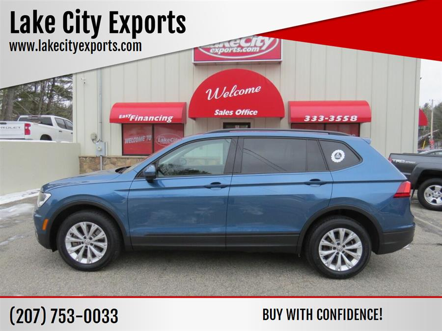 Used Volkswagen Tiguan 2.0T S 4Motion AWD 4dr SUV 2018 | Lake City Exports Inc. Auburn, Maine