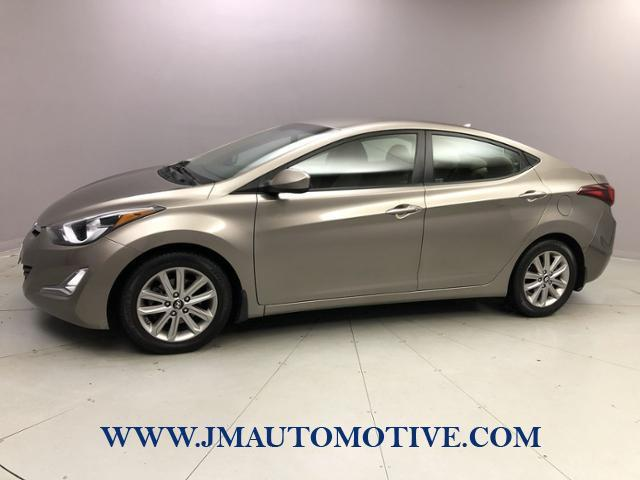 Used Hyundai Elantra 4dr Sdn Auto SE 2014 | J&M Automotive Sls&Svc LLC. Naugatuck, Connecticut