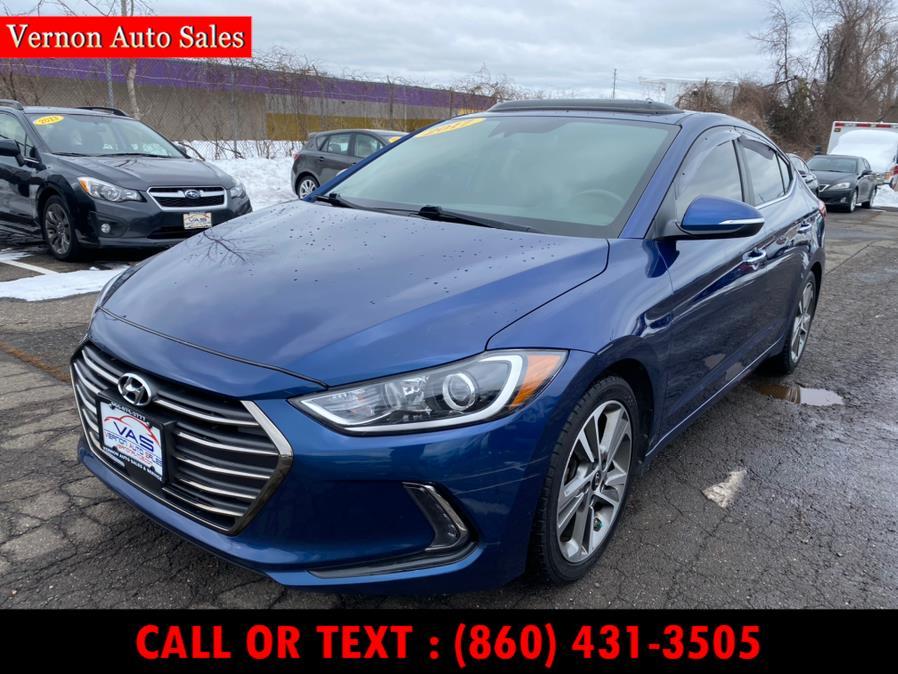Used 2017 Hyundai Elantra in Manchester, Connecticut | Vernon Auto Sale & Service. Manchester, Connecticut