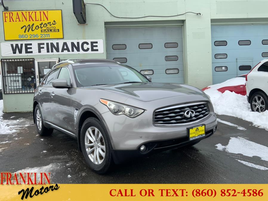 Used 2011 INFINITI FX35 in Hartford, Connecticut | Franklin Motors Auto Sales LLC. Hartford, Connecticut