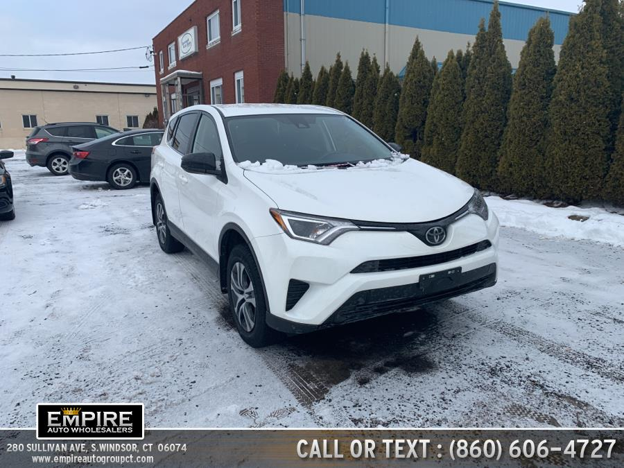 Used Toyota RAV4 LE AWD (Natl) 2018 | Empire Auto Wholesalers. S.Windsor, Connecticut