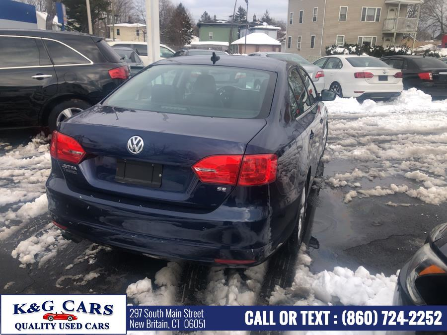 Used Volkswagen Jetta Sedan 4dr Auto SE w/Connectivity PZEV 2014 | K and G Cars . New Britain, Connecticut
