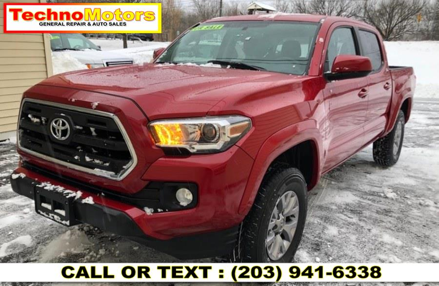 Used Toyota Tacoma SR5 Double Cab 5'' Bed V6 4x4 AT (Natl) 2017 | Techno Motors . Danbury , Connecticut