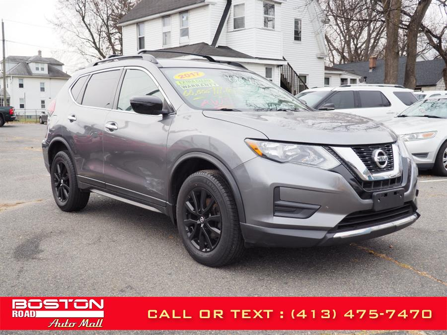 The 2017 Nissan Rogue SV AWD