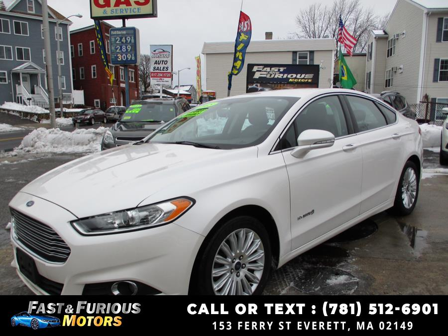 2015 Ford Fusion 4dr Sdn SE Hybrid FWD photo