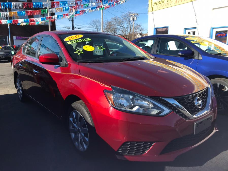 Used Nissan Sentra SV CVT 2017 | Affordable Motors Inc. Bridgeport, Connecticut