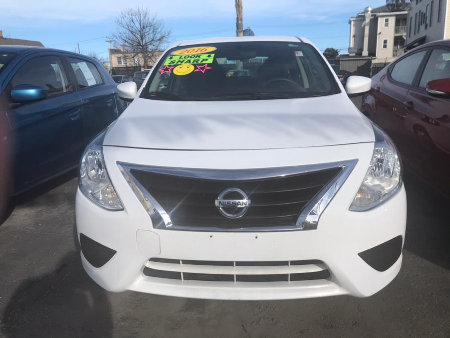 Used Nissan Versa SV 2016   Affordable Motors Inc. Bridgeport, Connecticut