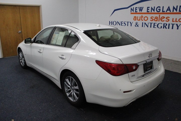 Used INFINITI Q50 4dr Sdn Premium AWD 2014 | New England Auto Sales LLC. Plainville, Connecticut