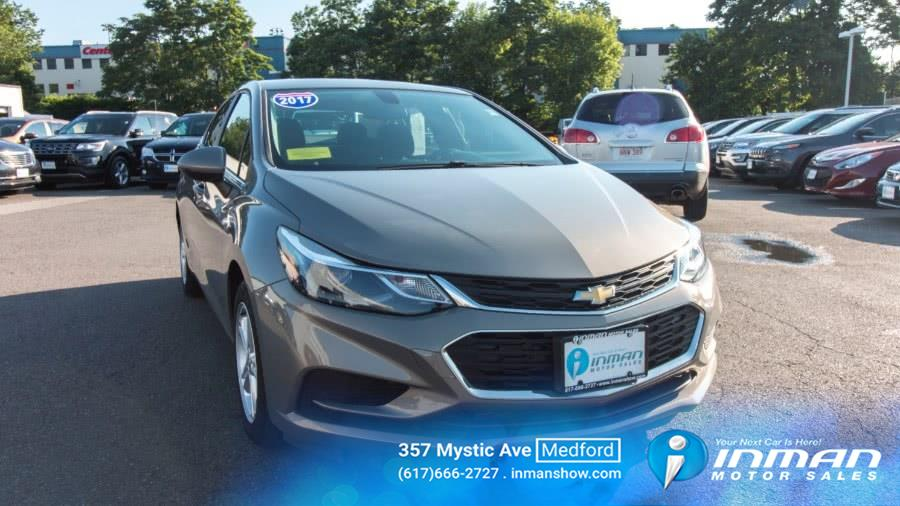 Used Chevrolet Cruze 4dr Sdn Auto LT 2017 | Inman Motors Sales. Medford, Massachusetts