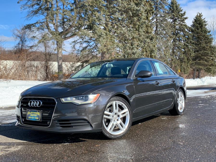 Used 2014 Audi A6 in Waterbury, Connecticut | Platinum Auto Care. Waterbury, Connecticut