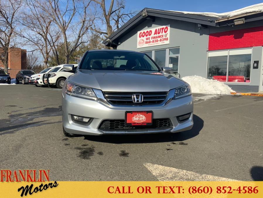 Used Honda Accord Sedan 4dr I4 CVT Sport 2015 | Franklin Motors Auto Sales LLC. Hartford, Connecticut