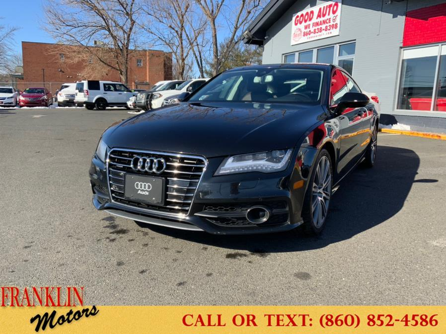 Used 2012 Audi A7 in Hartford, Connecticut | Franklin Motors Auto Sales LLC. Hartford, Connecticut