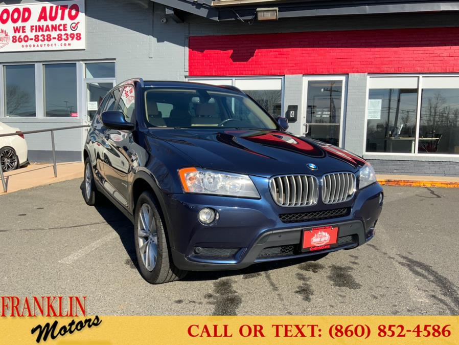 Used 2013 BMW X3 in Hartford, Connecticut | Franklin Motors Auto Sales LLC. Hartford, Connecticut