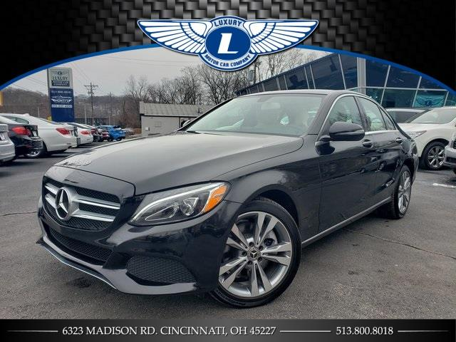 Used 2018 Mercedes-benz C-class in Cincinnati, Ohio | Luxury Motor Car Company. Cincinnati, Ohio