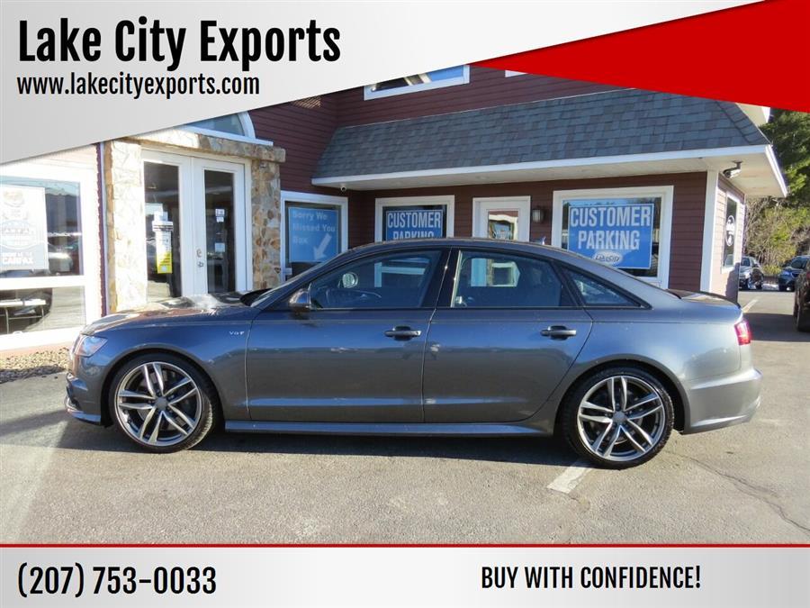 Used Audi S6 4.0T quattro Premium Plus AWD 4dr Sedan 2016 | Lake City Exports Inc. Auburn, Maine