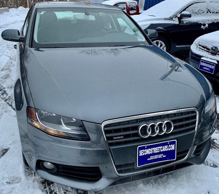Used Audi A4 2.0T PREMIUM 2012 | Second Street Auto Sales Inc. Manchester, New Hampshire