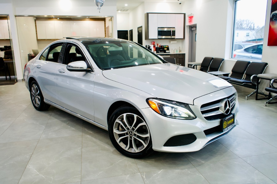 Used Mercedes-Benz C-Class C 300 4MATIC Sedan 2017 | Luxury Motor Club. Franklin Square, New York