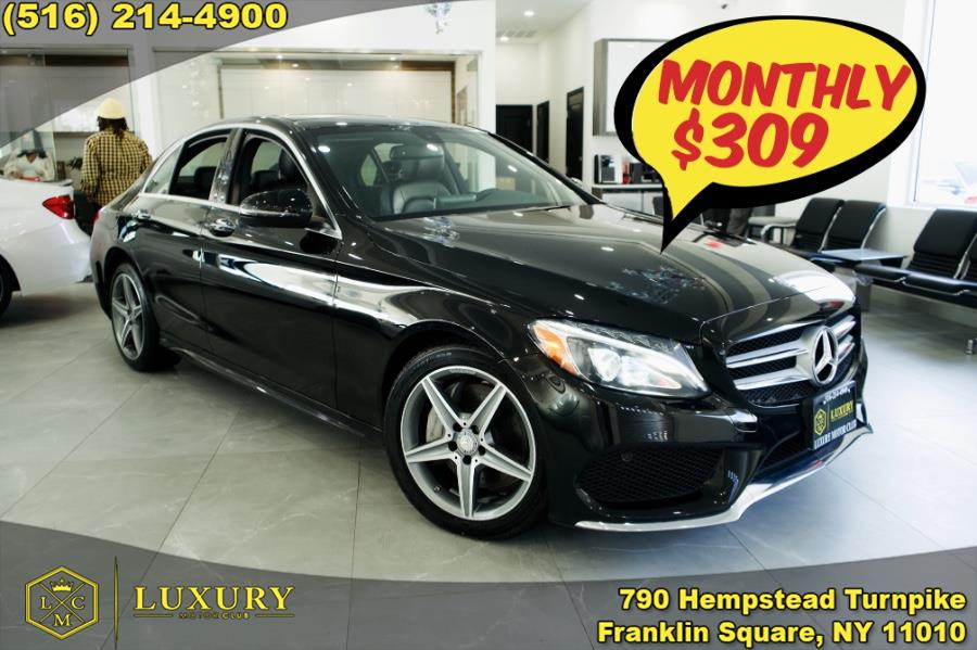 Used 2016 Mercedes-Benz C-Class in Franklin Square, New York | Luxury Motor Club. Franklin Square, New York