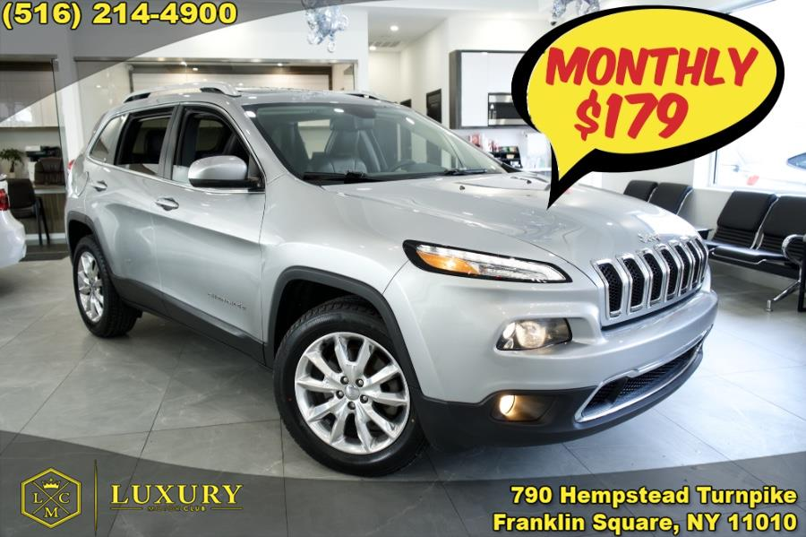 Used 2016 Jeep Cherokee in Franklin Square, New York | Luxury Motor Club. Franklin Square, New York
