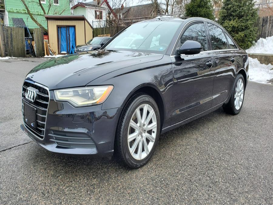 Used Audi A6 4dr Sdn quattro 2.0T Premium Plus 2014 | Capital Lease and Finance. Brockton, Massachusetts