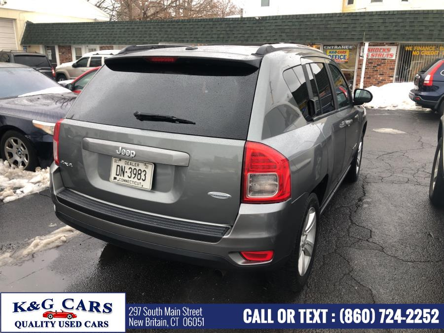Used Jeep Compass 4WD 4dr Latitude 2012 | K and G Cars . New Britain, Connecticut