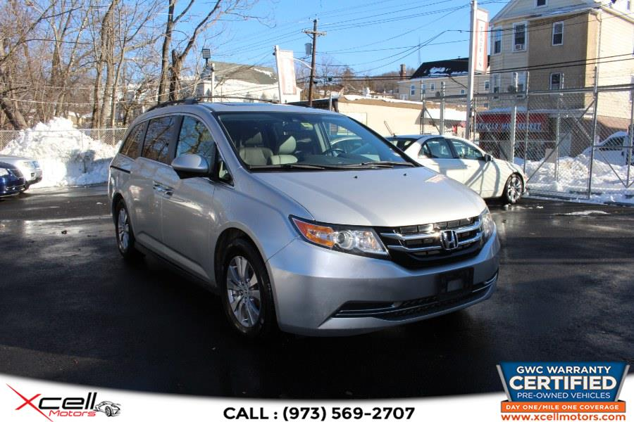 Used 2014 Honda Odyssey EX-L in Paterson, New Jersey | Xcell Motors LLC. Paterson, New Jersey