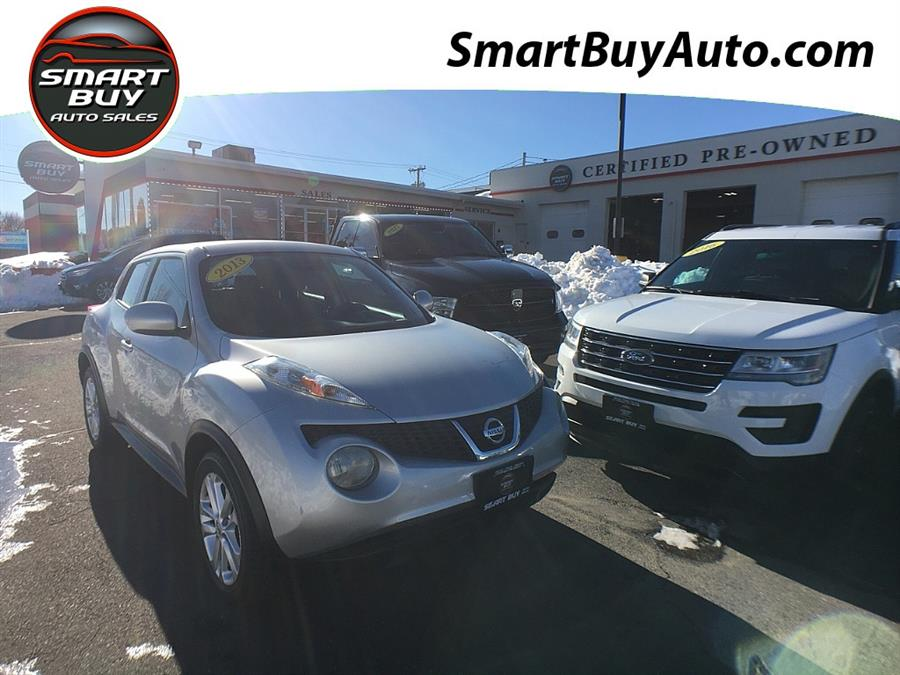 Used Nissan JUKE 5dr Wgn CVT SV FWD 2013   Smart Buy Auto Sales, LLC. Wallingford, Connecticut