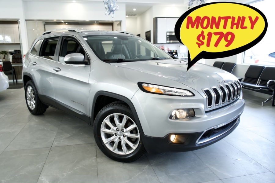 Used 2016 Jeep Cherokee in Franklin Square, New York | C Rich Cars. Franklin Square, New York