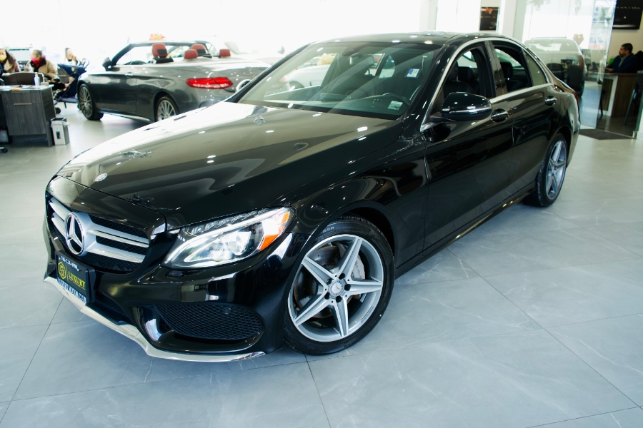 Used Mercedes-Benz C-Class 4dr Sdn C 300 4MATIC 2016 | C Rich Cars. Franklin Square, New York