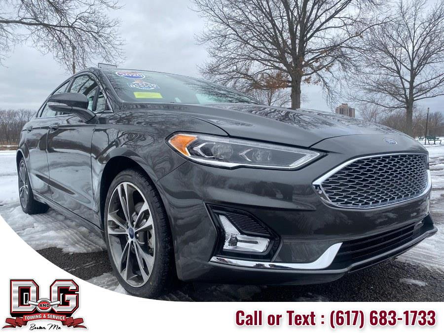 Used Ford Fusion Titanium FWD 2020 | D&G Auto. Allston,, Massachusetts