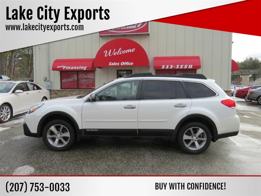 Used Subaru Outback 2.5i Limited AWD 4dr Wagon 2014 | Lake City Exports Inc. Auburn, Maine