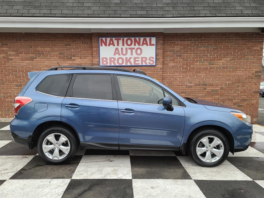 Used Subaru Forester 4dr 2.5i Limited 2015 | National Auto Brokers, Inc.. Waterbury, Connecticut