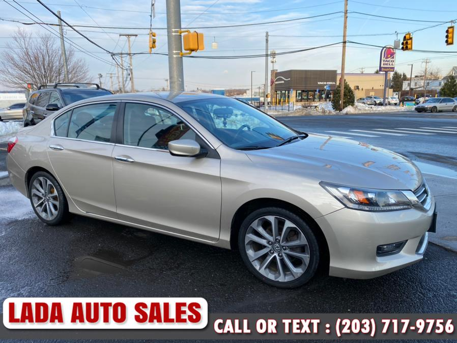 Used Honda Accord Sedan 4dr I4 CVT Sport 2015 | Lada Auto Sales. Bridgeport, Connecticut