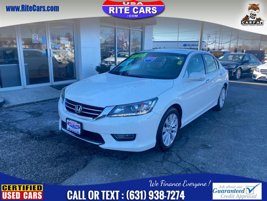 Used Honda Accord Sdn 4dr V6 Auto EX-L w/Navi 2013 | Rite Cars, Inc. Lindenhurst, New York