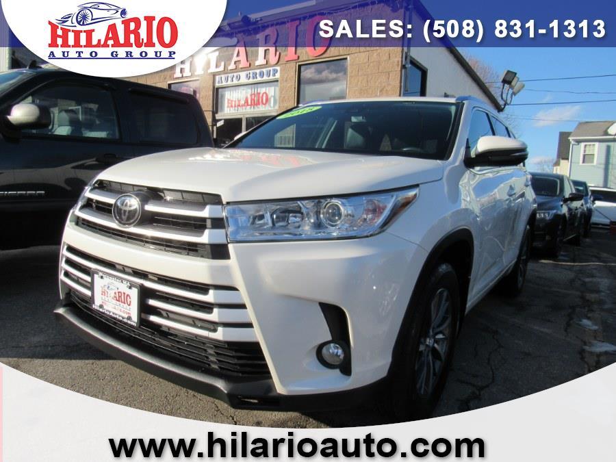 Used 2018 Toyota Highlander in Worcester, Massachusetts | Hilario's Auto Sales Inc.. Worcester, Massachusetts