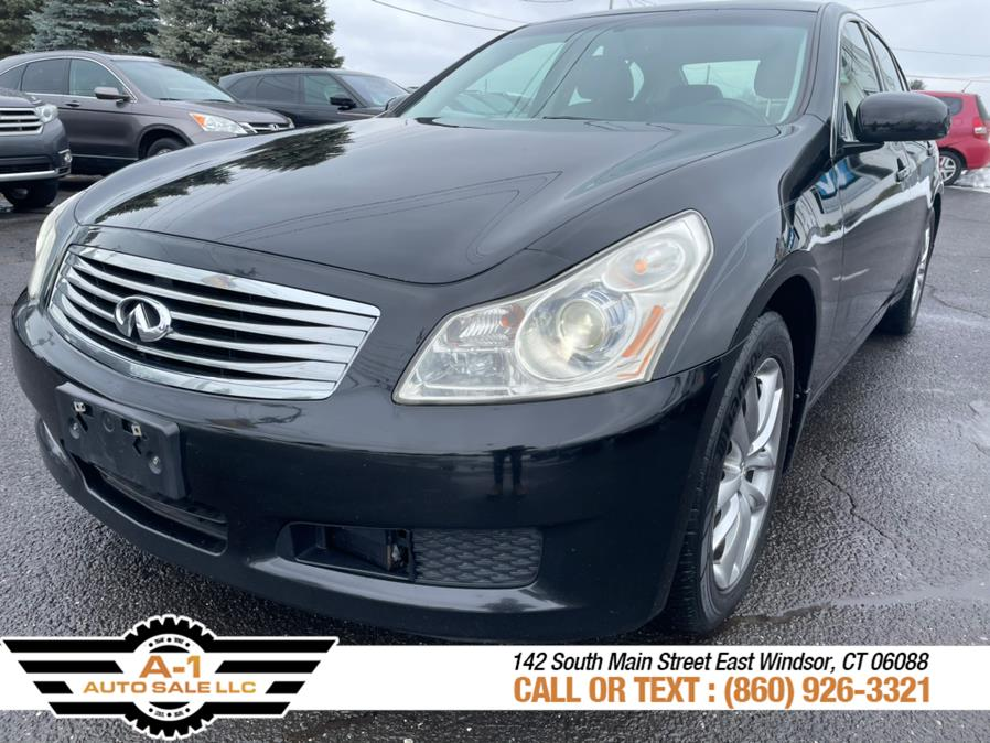 Used 2008 Infiniti G35 Sedan in East Windsor, Connecticut | A1 Auto Sale LLC. East Windsor, Connecticut