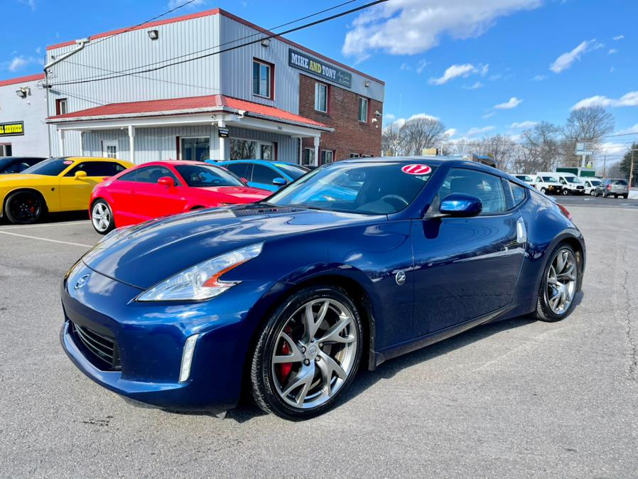 2017 Nissan 370Z Coupe Touring Manual, available for sale in South Windsor, CT