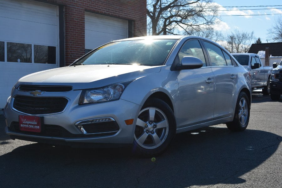 Used 2015 Chevrolet Cruze in ENFIELD, Connecticut | Longmeadow Motor Cars. ENFIELD, Connecticut